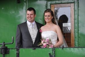 Bryllup på Veterantoget