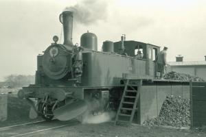 Damplokomotiv HHB 4