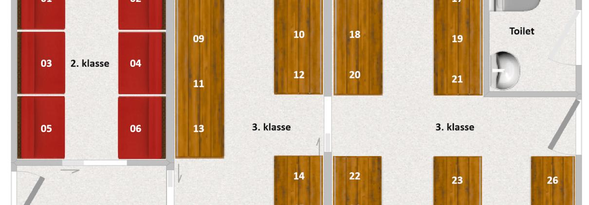KHB M4 Interiør