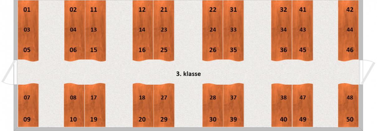 KSB C51 Interiør